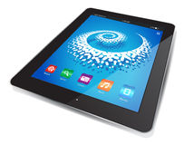 Tablet Chart Royalty Free Stock Photography