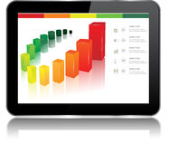 Tablet Chart Stock Photography