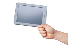 Tablet with a clean screen. Royalty Free Stock Images
