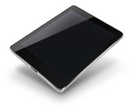 Tablet computer with black screen. Stock Images