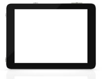 Tablet computer with blank screen Royalty Free Stock Photos