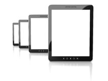Tablet Computer With Blank Screen On White Background Royalty Free Stock Photo