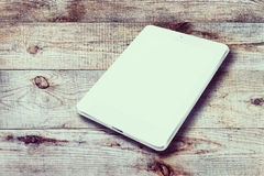 Tablet computer with blank screen. Stock Images