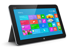 Tablet computer stock illustration