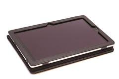 Tablet-Computer in der Abdeckung Lizenzfreie Stockfotografie
