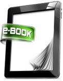 Tablet-Computer - EBook Lizenzfreies Stockfoto