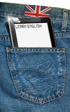 Tablet Computer - English Everywhere Royalty Free Stock Image