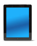 Tablet computer front isolated Stock Photos
