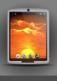 Tablet-Computer, Handy Lizenzfreies Stockbild