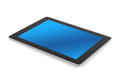 Tablet computer isolated. On white background stock illustration
