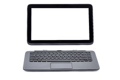 Tablet computer and keyboard royalty free stock photo