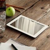 Tablet-Computer mit einem leeren Bildschirm Stockfotografie