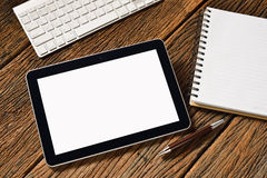 Tablet computer Stock Image