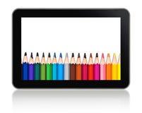 Tablet-Computer-Schule Stockfoto