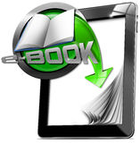Tablet Computers - E-Book Stock Photography