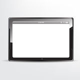 Tablet concept with blank screen Royalty Free Stock Image