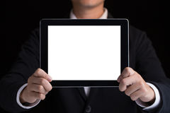 Tablet copy space Stock Image