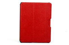 Tablet cover. Tablet case on a white background Stock Photo
