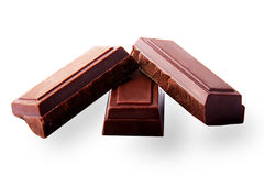 Tablet dark chocolate Royalty Free Stock Photo