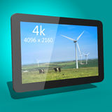 Tablet device 3d Royalty Free Stock Photos