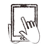 tablet device design Stock Photo