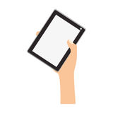 tablet device design Stock Image