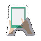 tablet device design Royalty Free Stock Image