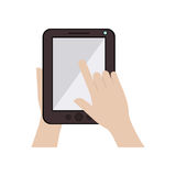 tablet device design Royalty Free Stock Photo