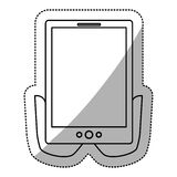 tablet device design Stock Images