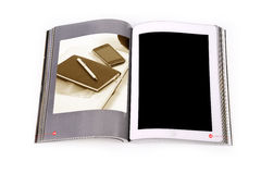 Tablet ebook Royalty Free Stock Photography