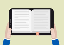 Tablet ebook Royalty Free Stock Image