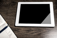 Tablet with an empty screen Royalty Free Stock Photos