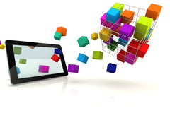 Tablet Extreme Box Royalty Free Stock Photo
