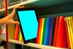 tablet för handholdingPC arkivfoton
