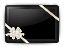 Tablet. Fictitious touch tablet PC vector Royalty Free Stock Images
