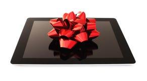 Tablet-Geschenk lizenzfreie stockfotografie