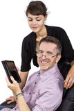 Tablet Gift for Dad Royalty Free Stock Photo