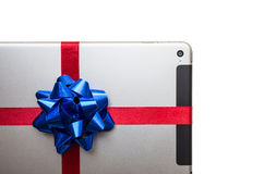 Tablet for gift Stock Photos