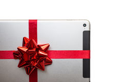 Tablet for gift Royalty Free Stock Photo