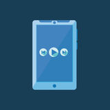 Tablet icon Royalty Free Stock Images