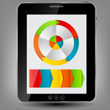 Tablet icon  illustration Stock Image
