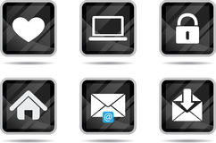 Tablet Icon - Internet 2 Royalty Free Stock Photography