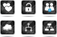 Tablet Icon - Internet 4 Royalty Free Stock Photos