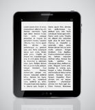 Tablet icon vector illustration Royalty Free Stock Images