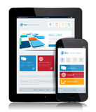 Tablet Internet Technology Royalty Free Stock Photography