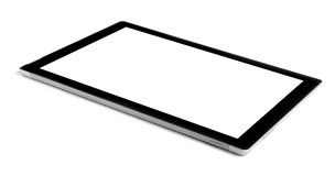 Tablet. Tablet isolate yaw on white background royalty free stock images