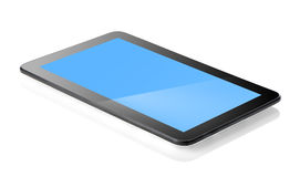 Tablet isolated stock photo
