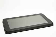 Tablet isolated on white background Royalty Free Stock Photography