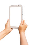 Tablet isolated Royalty Free Stock Photography