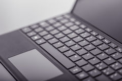 Tablet keyboard detail Royalty Free Stock Images